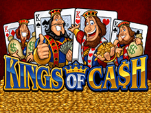 Онлайн-аппарат Kings Of Cash — щедрая страна богатства